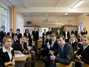 School in Russia with a 99.7 youth literacy percentage